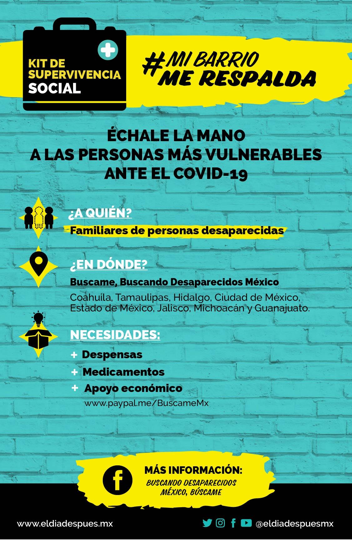 1. Buscando Desaparecidos México, Búscando